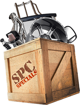 crate full of automotive specials