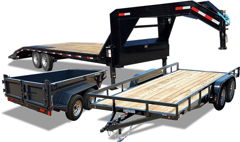 group of high quality trailers
